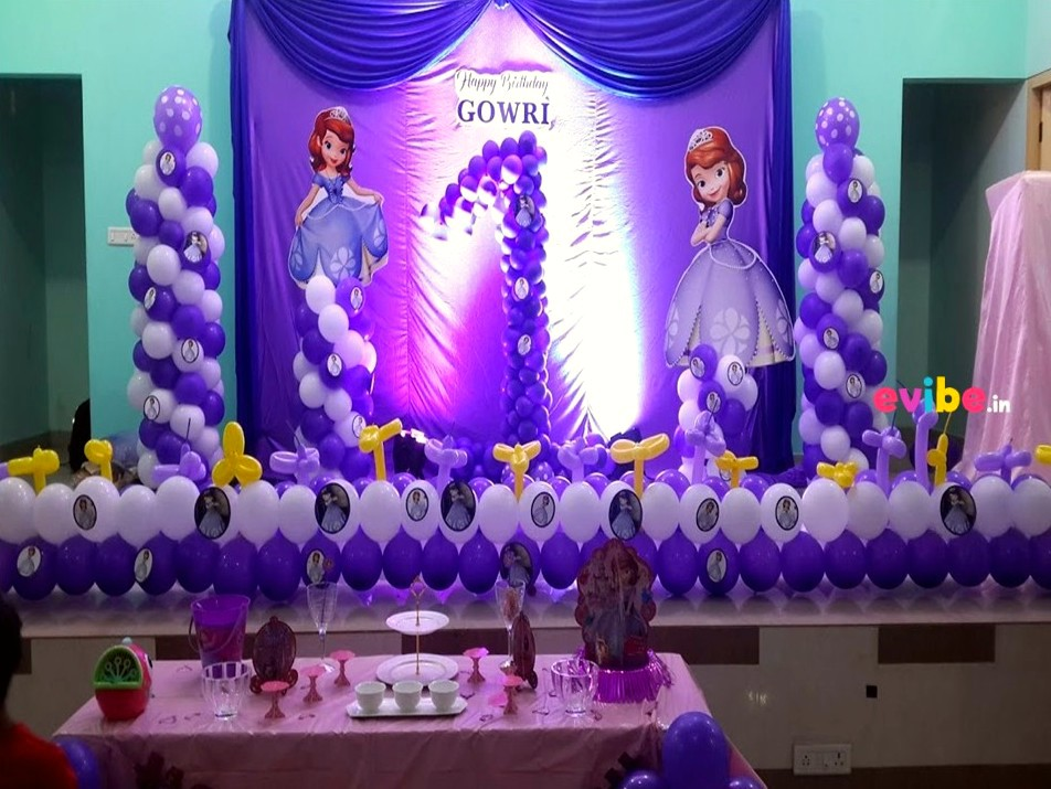 Girls Birthday Themes