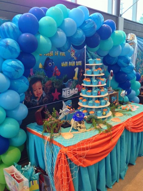 boy birthday decoration